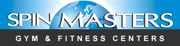 Gym and  Fitness Center Spin Masters - Logo
